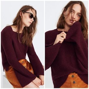 Madewell Wide-Sleeve Pullover Sweater NWT
